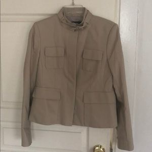 Tan Military Style Jacket